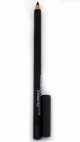 Карандаш для век Premium Deoproce Soft and High Quality Eyeliner Pencil