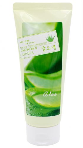 Пилинг-скатка для лица с экстрактом Алоэ Natural Clean Peeling Gel Aloe