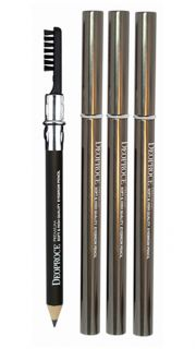 Карандаш для бровей Deoproce Premium Soft High Quality Eyebrow Pencil тон 25  021100044 оптом.
