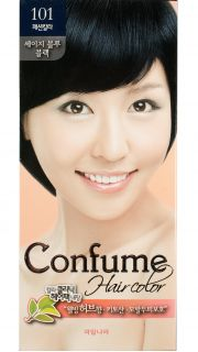 Краска для волос Confume Herbal Hair Colour - N 101 Sage Blue Black  022700008 оптом.