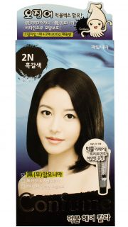 Краска для волос Confume Squid Ink Hair Color 2N - Black Brown  022700029 оптом.