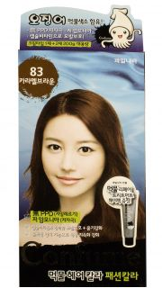 Краска для волос Confume Squid Ink Hair Color 83-Caramel Brown  022700032 оптом.