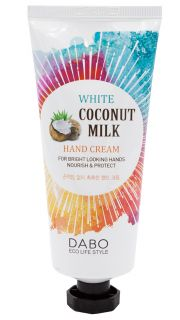 Крем для рук с экстрактом кокоса DABO White Coconut Milk Hand Cream  081000012 оптом.