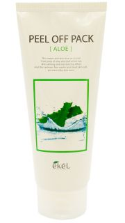 Маска-плёнка с экстрактом Алоэ EKEL Peel Off Pack Aloe  081800035 оптом.