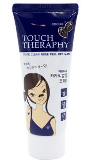 Маска-пленка очищающая Welcos Touch Therapy Cacao Pore Clear Nose  081800042 оптом.