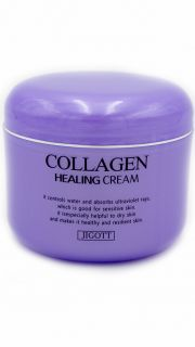 Крем для лица Коллаген Jigott Collagen Healing Cream  082300022 оптом.