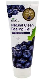 Пилинг с экстрактом винограда EKEL Natural Clean Peeling Gel(Grape)  082300047 оптом.