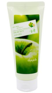 Пилинг-скатка для лица с экстрактом зеленного яблока. ASPASIA Apple Natural Clean Peeling Gel  082300054 оптом.